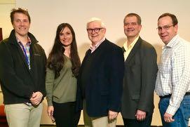 Gary Longenecker, Lee Ann Jackson, Ron Harris, Bernie McPartland, and John McKinnon