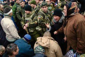 Sharing the gospel with people in Ukraine