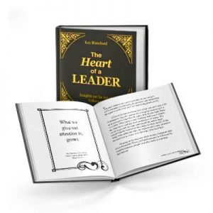 A heart of a leader book cover