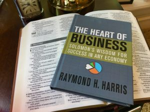 A cover of the book called The Heart of Business - Solomon's Wisdom for Success in Any Economy