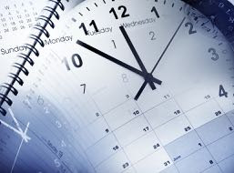 Time management with calendar