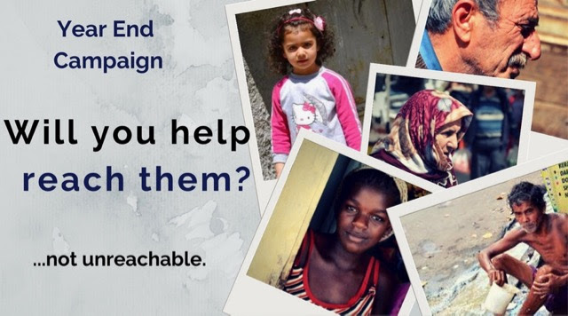 Will you help reach them Campaign
